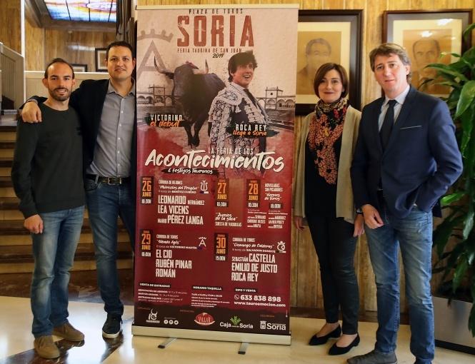 Soria presenta un 'ferión' lleno de acontecimientos
