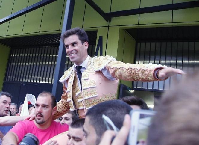 Rubén Pinar, triunfador de la Feria de Burgos