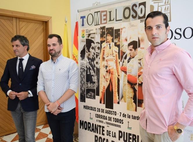Morante, Roca Rey y Antonio Linares, en Tomelloso