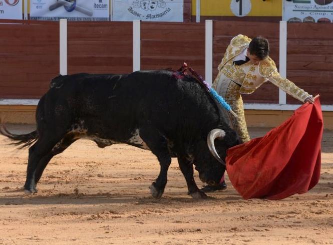 Aníbal Ruiz y Manuel Escribano, a hombros