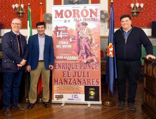 Ponce, El Juli y Manzanares, en Morón de la Frontera