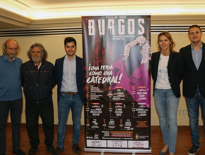 Tauroemoción presenta los carteles de la Feria de Burgos