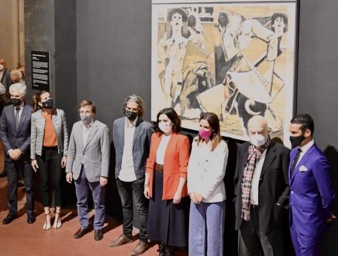 Las Ventas ya luce una obra en memoria de Víctor Barrio