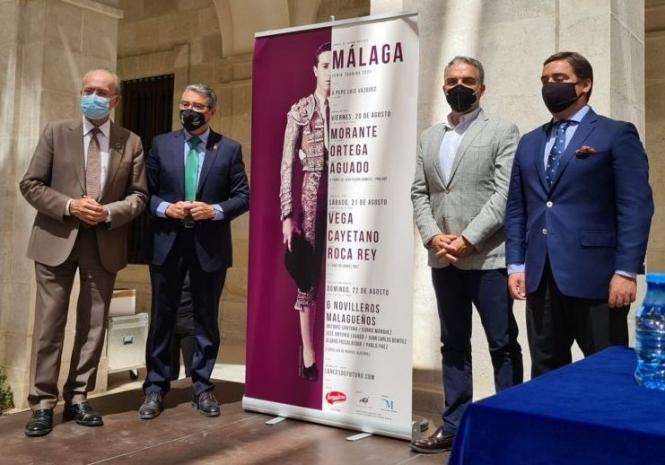 Garzón presenta los carteles de Málaga