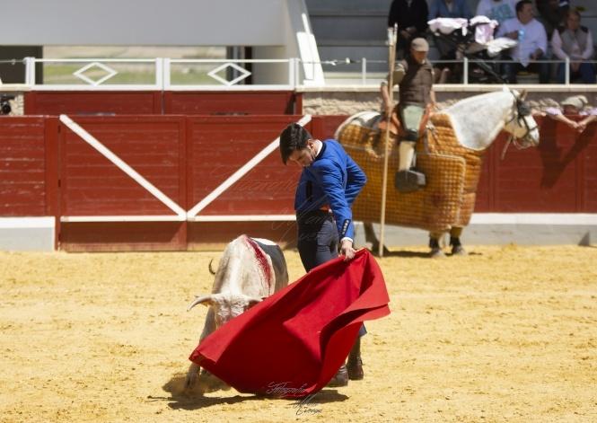 Exitoso debut de Aurelio Hernando en Villaseca