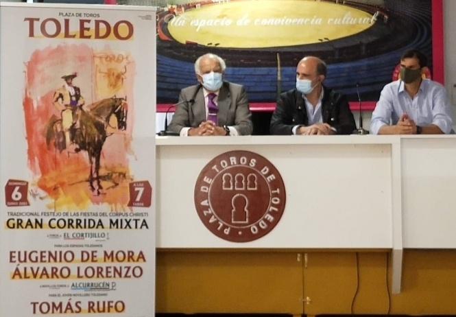 Toledo presenta su tradicional corrida del Corpus