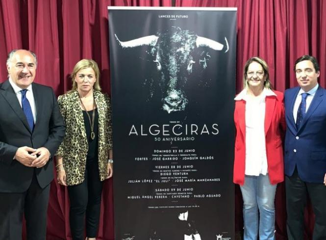 Algeciras presenta la feria del aniversario de Las Palomas