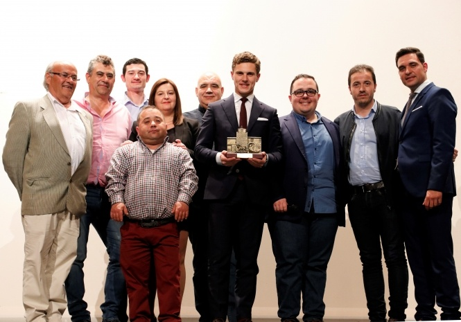 Iniesta premia a Salenc como el mejor novillero de 2018