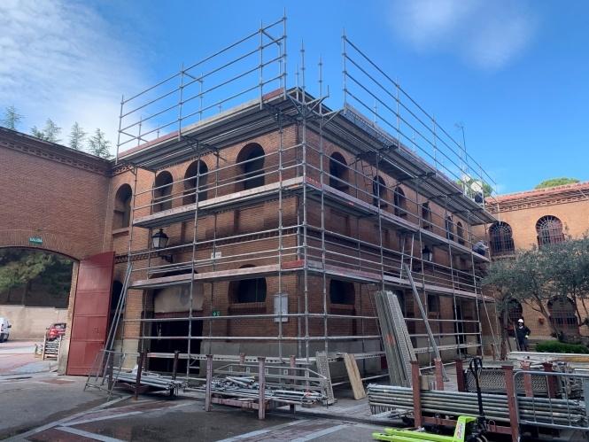 Comienzan las obras de restauración en Las Ventas