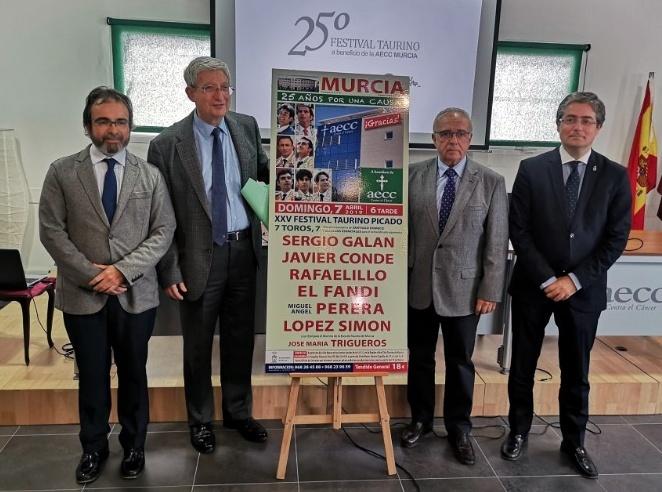Murcia anuncia su XXV festival contra el cáncer