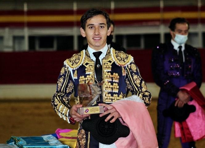 Ismael Martín, novillero triunfador de Castilla y León