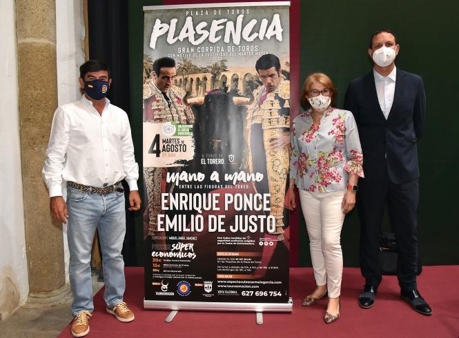 Ponce y Emilio de Justo, mano a mano en Plasencia